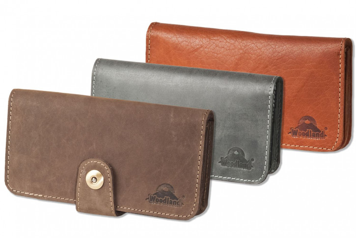 Woodland® Moderne Damenbörse aus hochwertigem Büffelleder