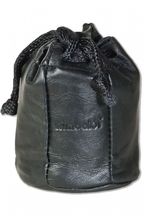 Rimbaldi® Tabaksbeutel mit Kordelzug und Druckknopfverschluss aus besonders weichem Nappaleder