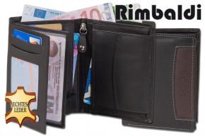 Rimbaldi® - Riegelgeldbörse im Querformat aus feinem Rind-Nappaleder in  > IN VERSCHIEDENEN FARBEN ERHÄLTLICH!