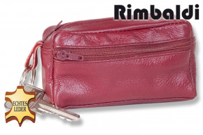Rimbaldi® -  Large key pocket with extra compartment made of soft, untreated cowhide in assorted colors