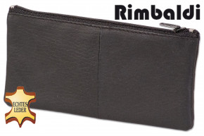 Rinaldo® - concatenated key pocket for large keys from natural cow leather in black