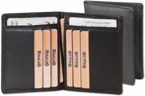 Rinaldo®Licence-/Creditcard case for 6 credit cards and 4 licence-cards made, from cow nappa-leather