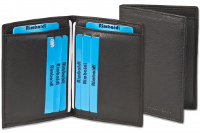 Rimbaldi® Licence-/Creditcard case for 6 credit cards and 4 licence-cards made, from soft cow leather