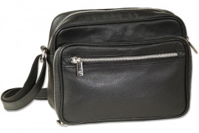 Rimbaldi® - Luxury bag made of high quality Nappa leather in black