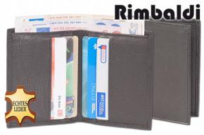 Rimbaldi® Kreditkartenetui mit Geldscheintasche aus weichem, naturbelassenem Rindsleder