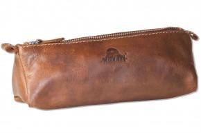 Woodland® Schreibgerätetasche aus hochwertigem OIL PULL-UP Büffelleder