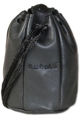Rimbaldi® Lederbeutel mit Kordelzug und Druckknopfverschluss aus besonders weichem Rind-Nappaleder